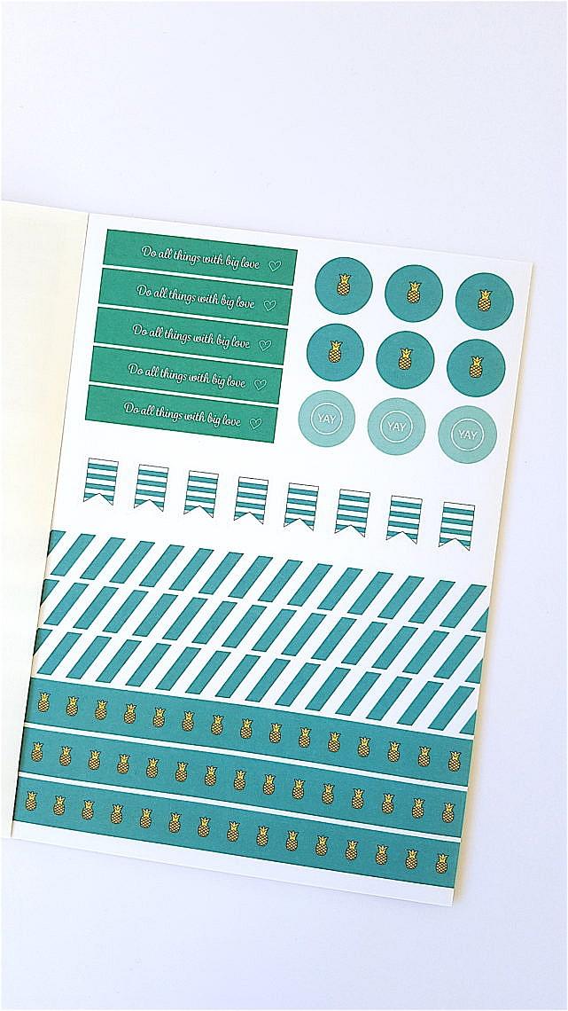 Stickerbook, Lehrerstickers, Stickerliebe, Lehrershop