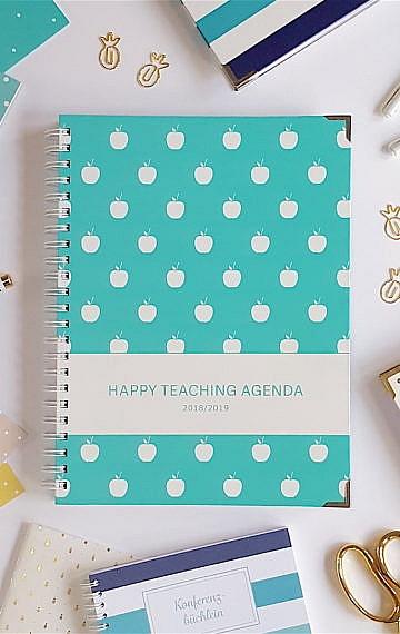 Lehrerkalender, Lehrerplaner, Unterrichtsplanung, Lehrerleben, Lehreragenda, Happy Teaching Agenda, Happy Teaching, Lehrershop, Lehrer, Unterrichtsmaterial, Unterricht, Schulmaterial, Lehrergeschenke