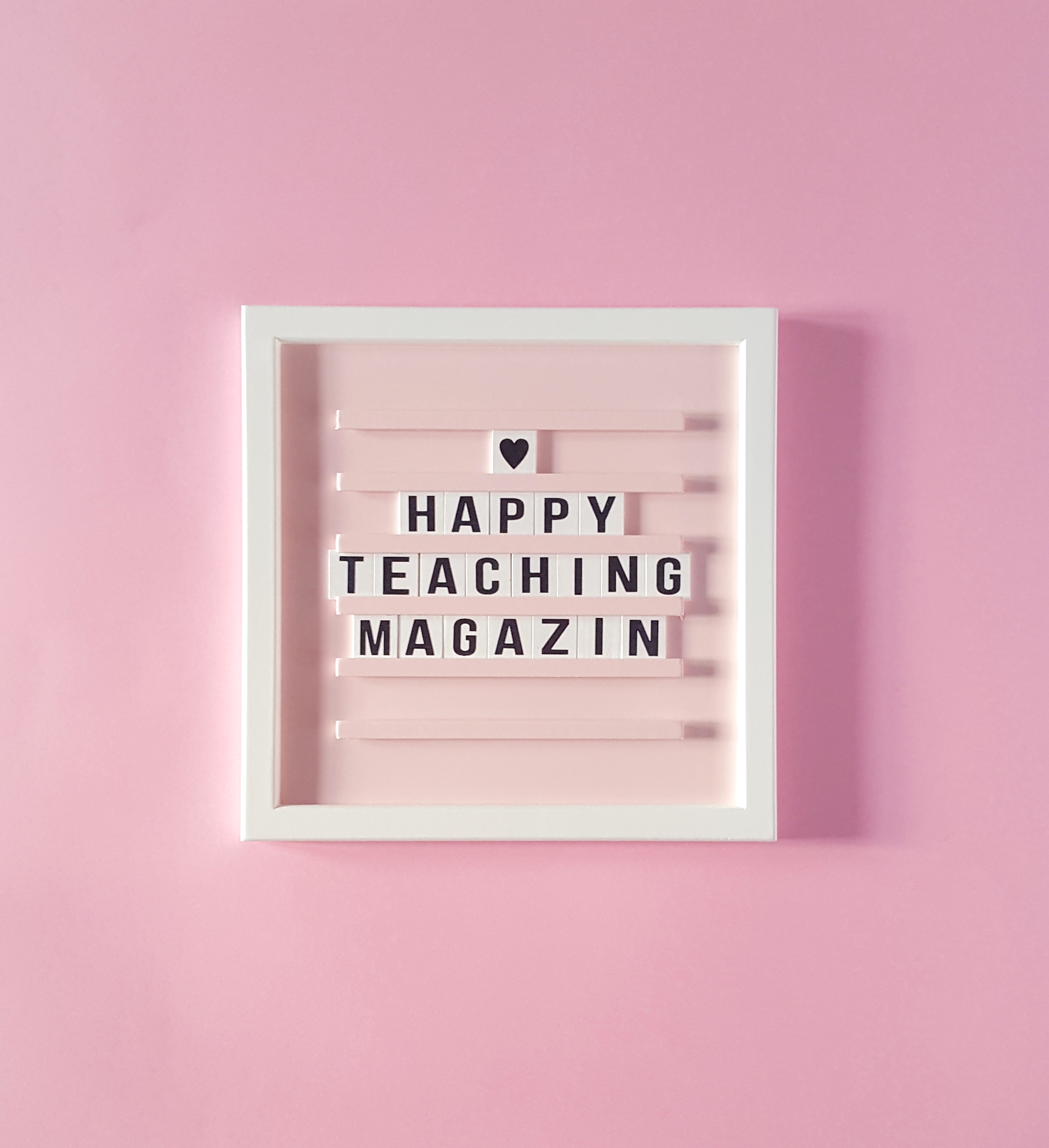 Lehrermagazin, Lehrerheft, Lehrerinfos, Lehrergeschenk, Lehrerzeitschrift, Lehrerschrift, Happy Teaching Magazin